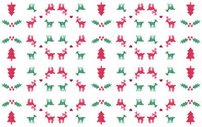 christmas pattern Tumblr