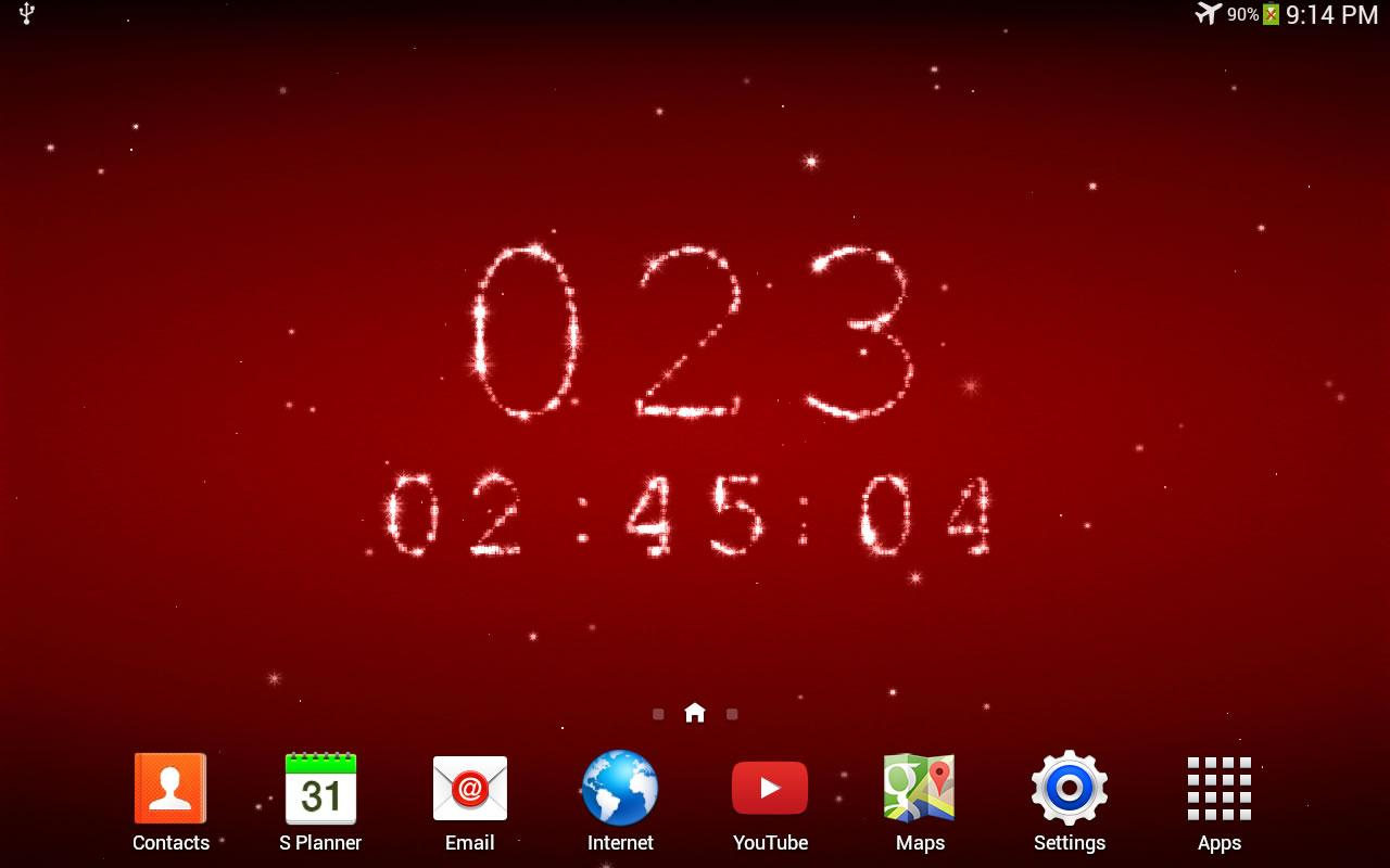 Christmas Countdown Live Wallpaper For Desktop Posted By Christopher Thompson