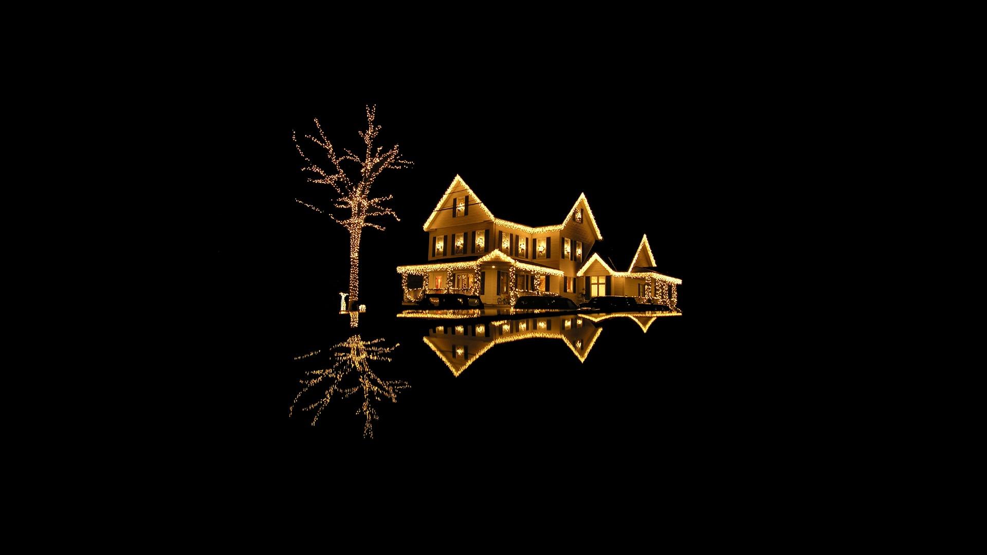 Christmas Lights Desktop Wallpaper 1920x1080