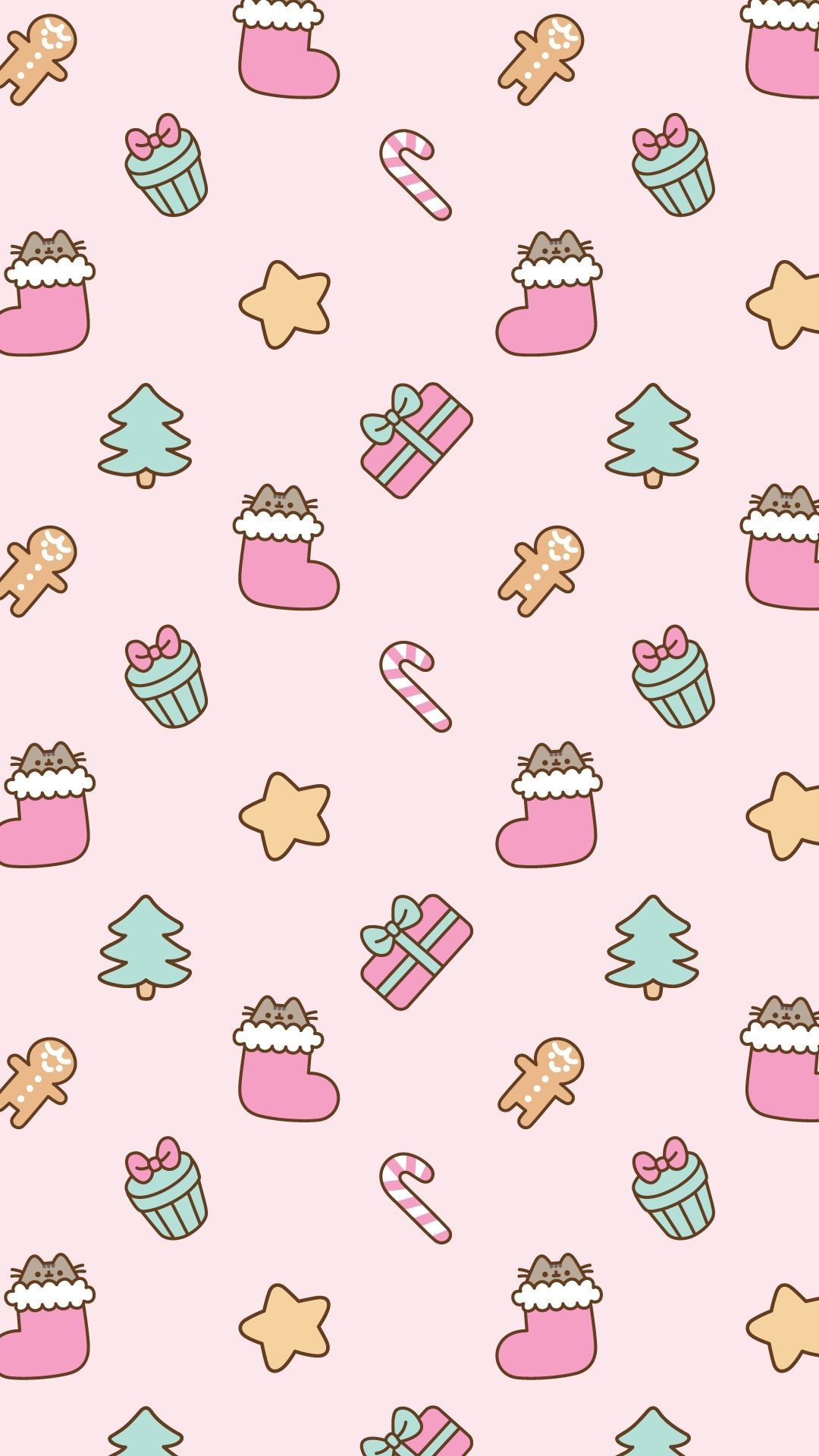 63+ Pink Christmas Wallpapers on WallpaperPlay