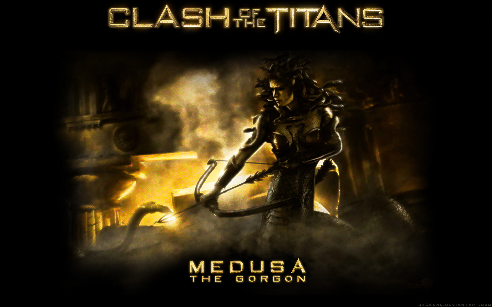Clash Of The Titans Perseus Medusa By Riebeck On Deviantart