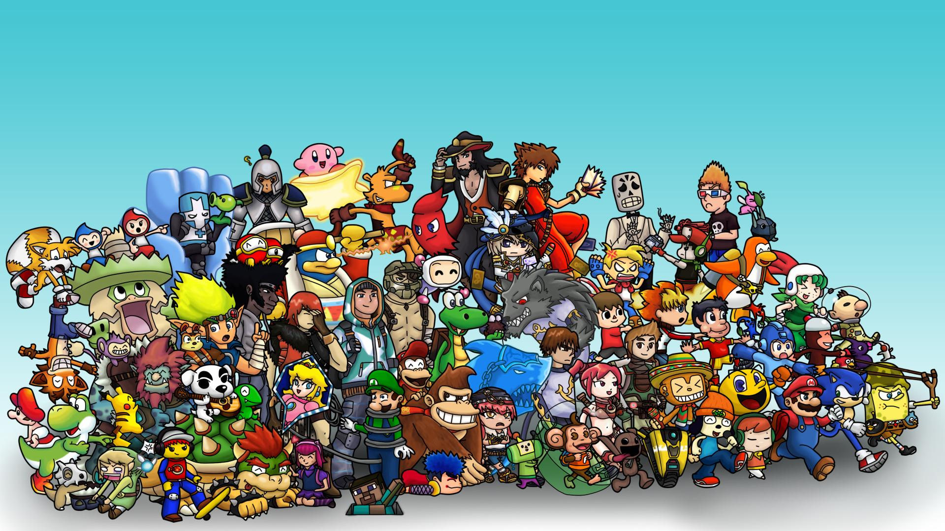 Classic Video Games Wallpaper Posted By John Walker