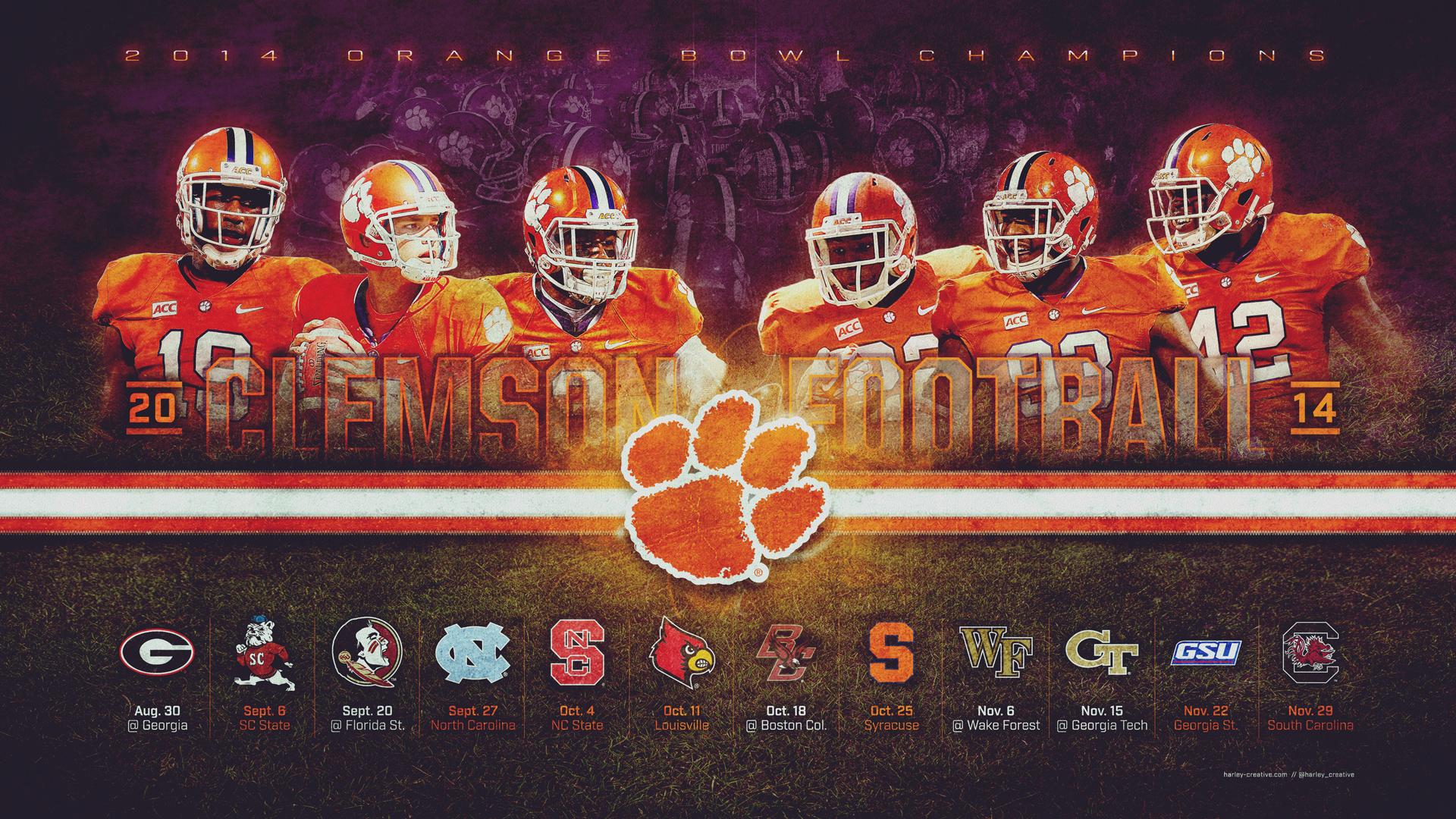 Clemson Desktop Wallpaper Posted By Christopher Peltier