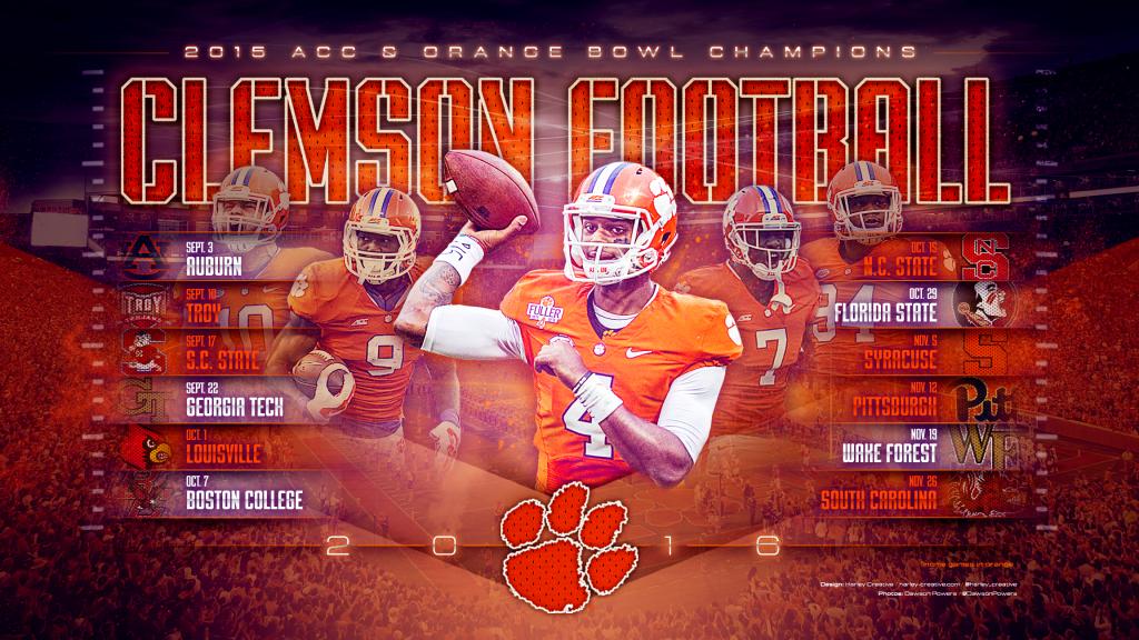 Clemson Tigers Desktop Wallpaper Posted By John Peltier