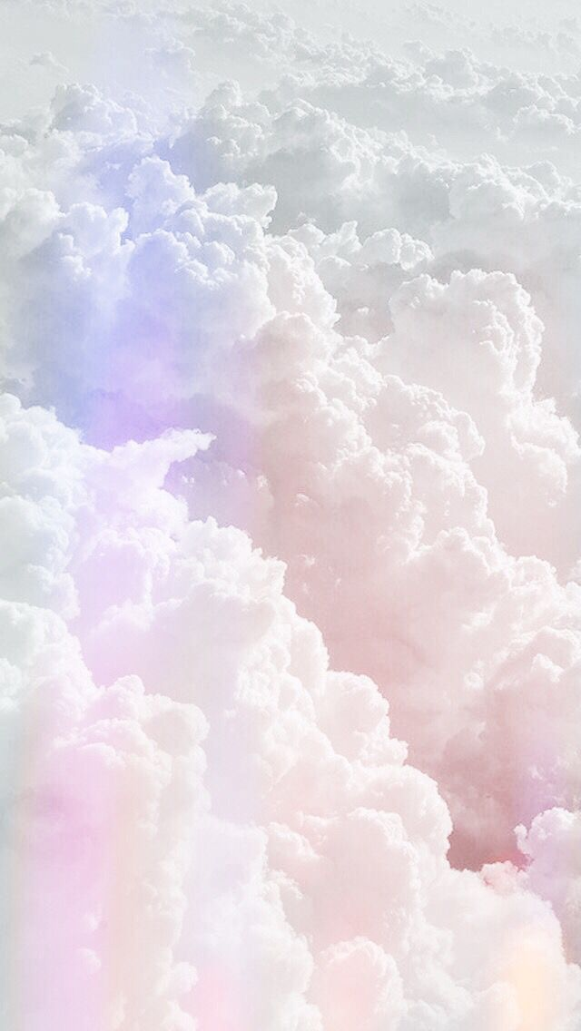 Rainbow clouds Holographic wallpapers, Sky aesthetic
