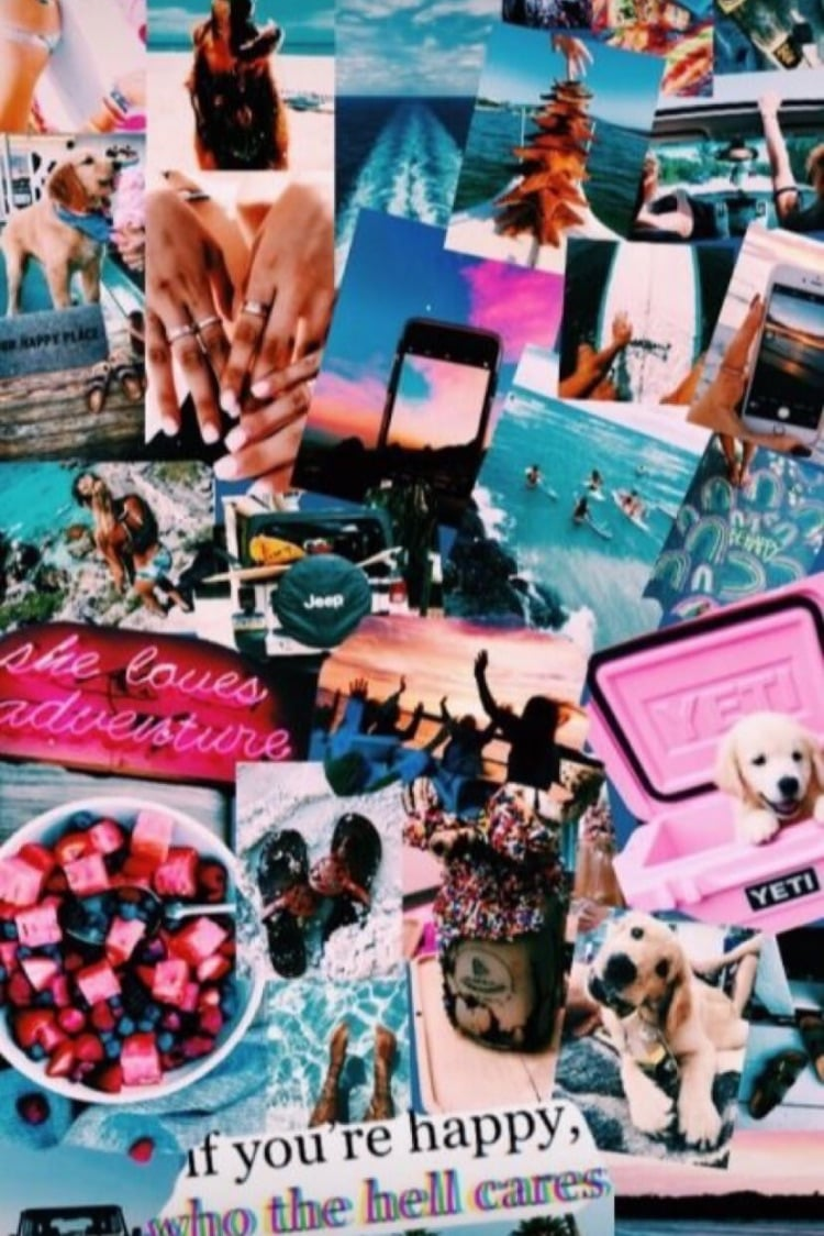 Aesthetic, Pink, And Wallpaper Image Vsco Collage, Hd