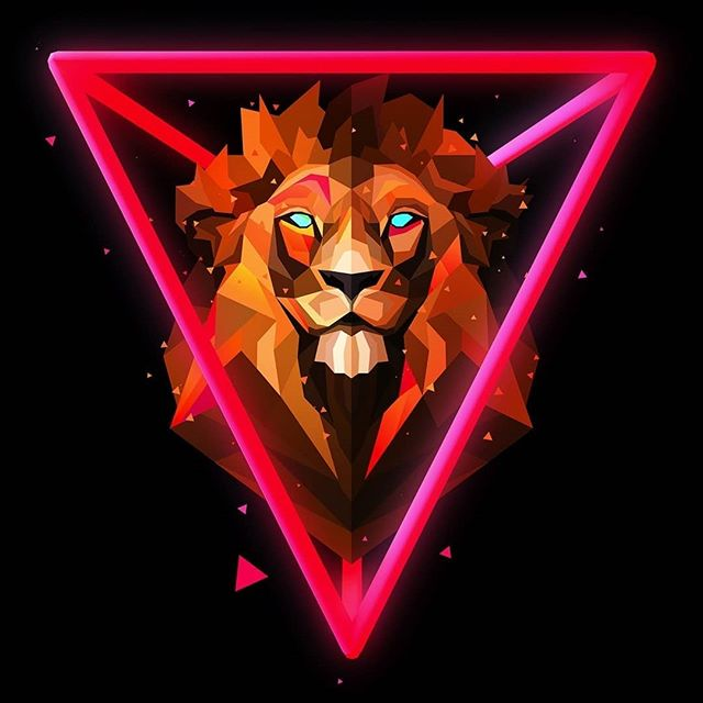 Colorful Lion Wallpaper Posted By Christopher Johnson