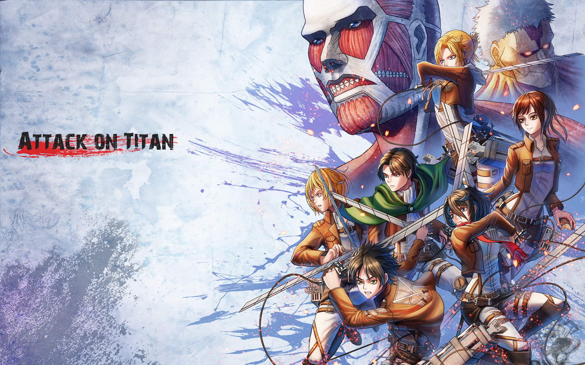 Colossal Titan Wallpaper Posted By Sarah Walker