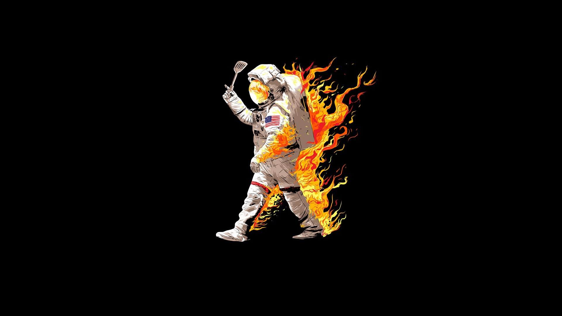 1920x1080 Wallpaper Astronaut On Moon