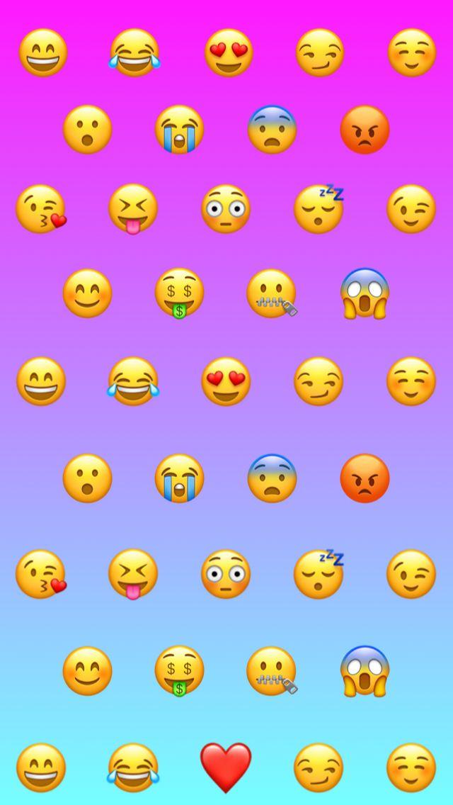 Cute Emoji Wallpapers For Iphone Impremedianet Emojis