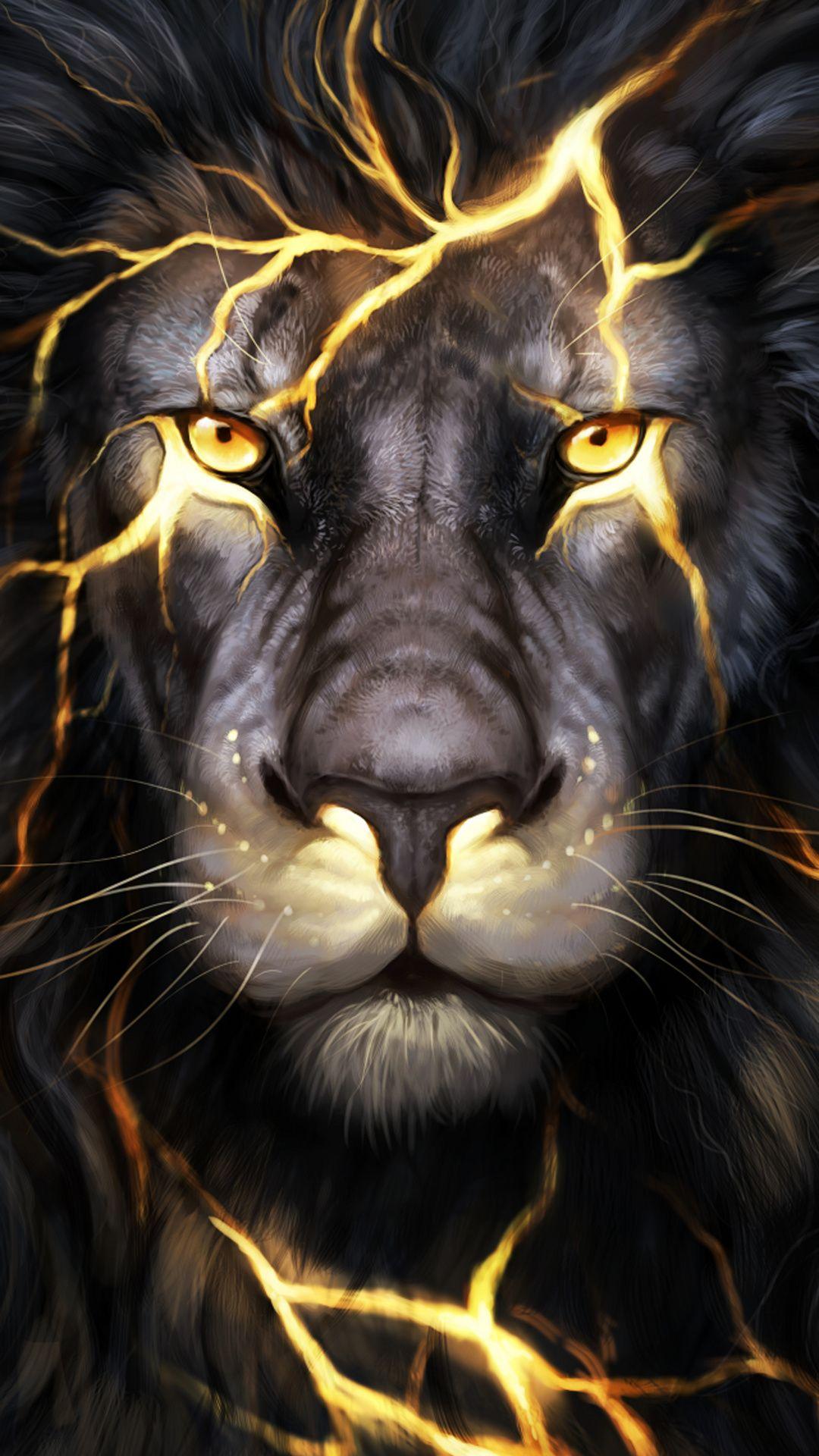 Just a cool 3D Lion graphic in 2019 Lion wallpaper Lion