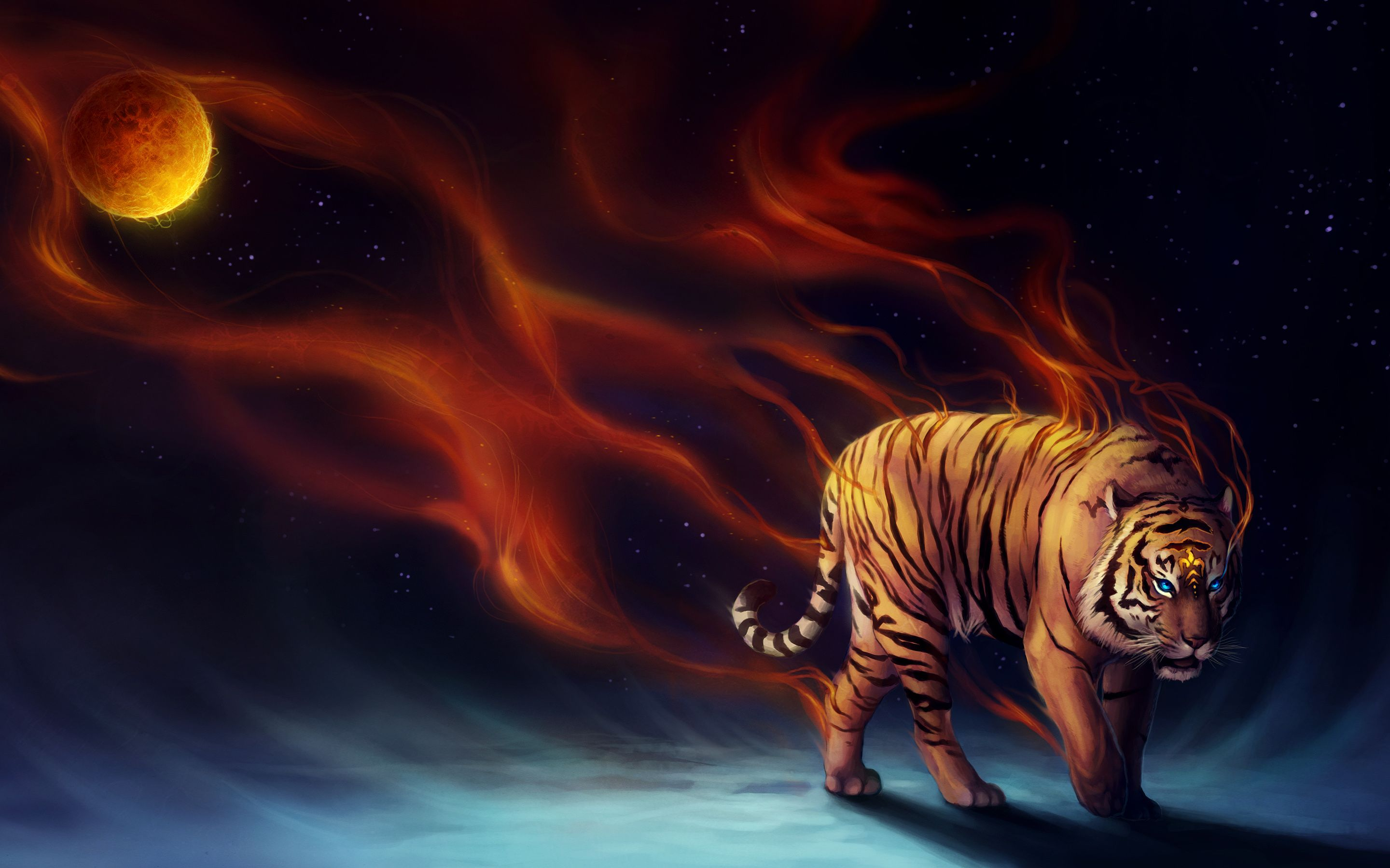 Cool Tiger Backgrounds Posted By John Peltier