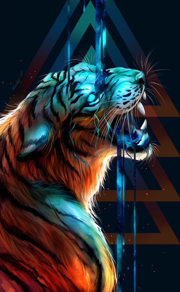 Cool Tiger Wallpaper Posted By Christopher Johnson