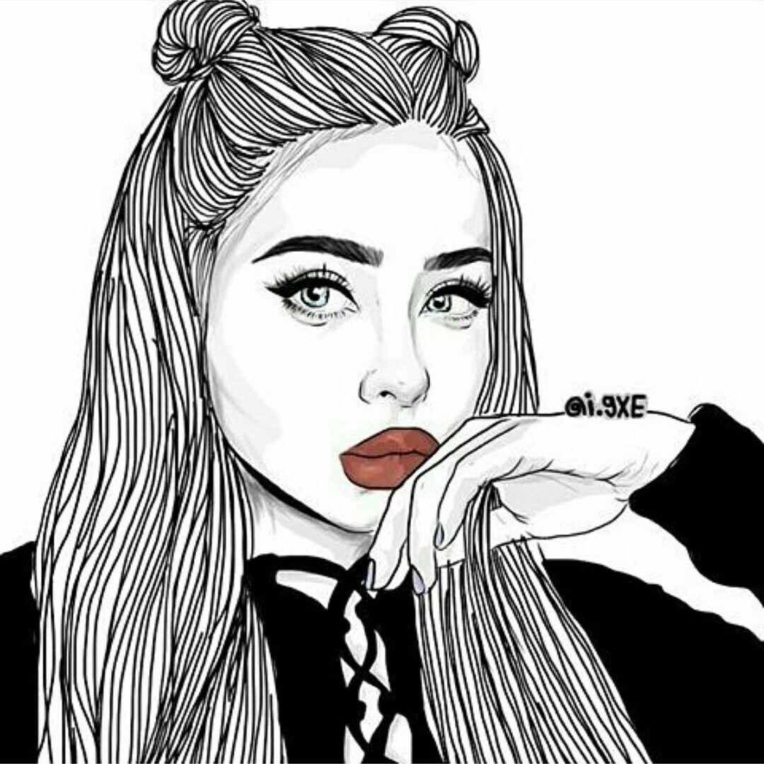 Cool Photos Drawing Girl