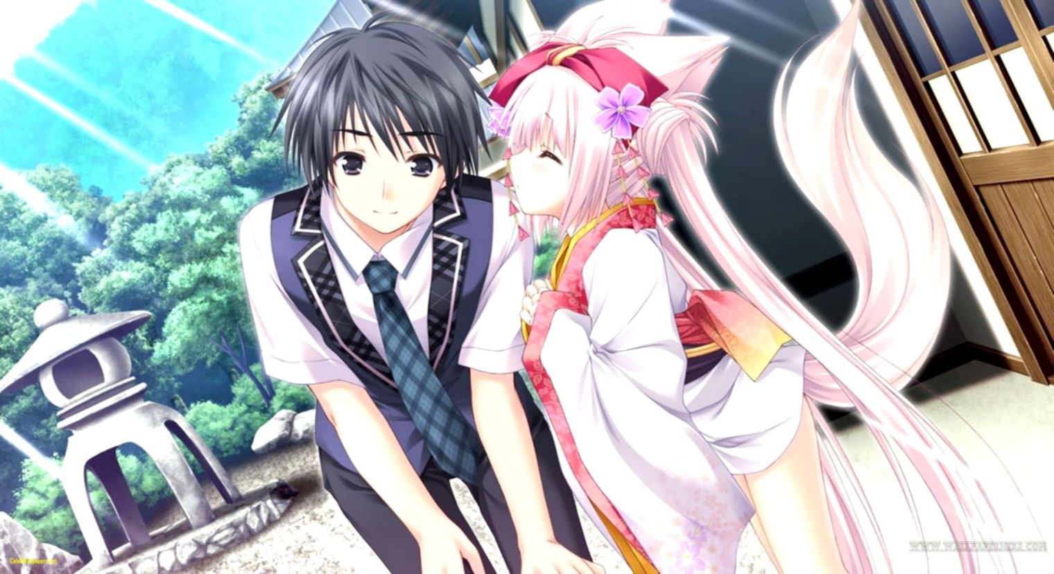 Couples Anime Wallpapers Posted By John Tremblay