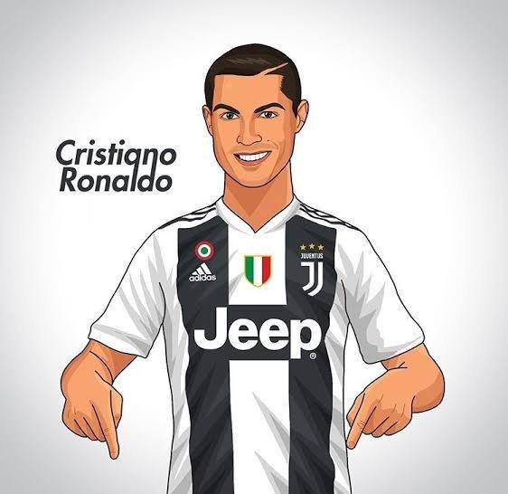 Cristiano Ronaldo Cartoon Posted By Ryan Thompson