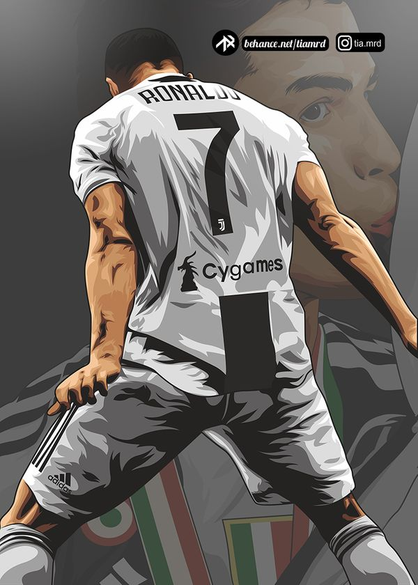 Cristiano Ronaldo Cartoons Behance Wallpapers Posted By Christopher Cunningham