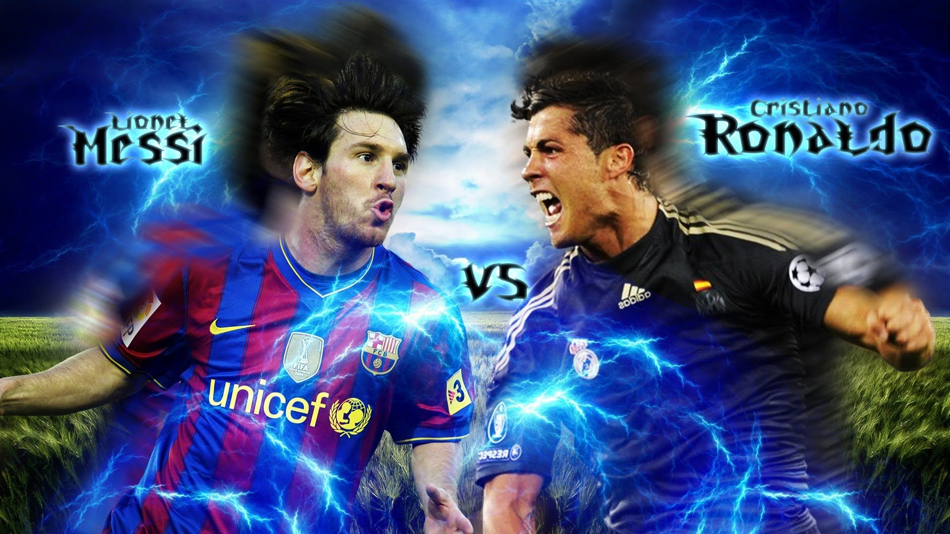 Cristiano Ronaldo Vs Messi Wallpapers Posted By Zoey Simpson