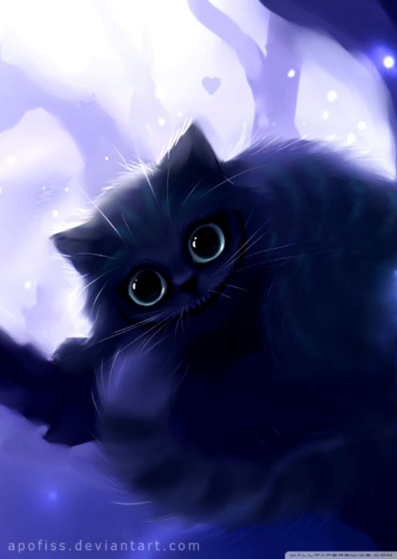 Cute Anime Cat Wallpaper Posted By Michelle Anderson