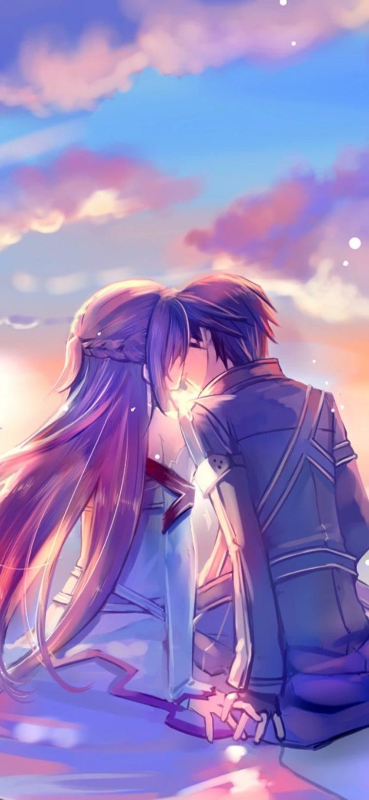 Wallpaper Anime Couple : Sad Anime Couples Wallpapers Top ...