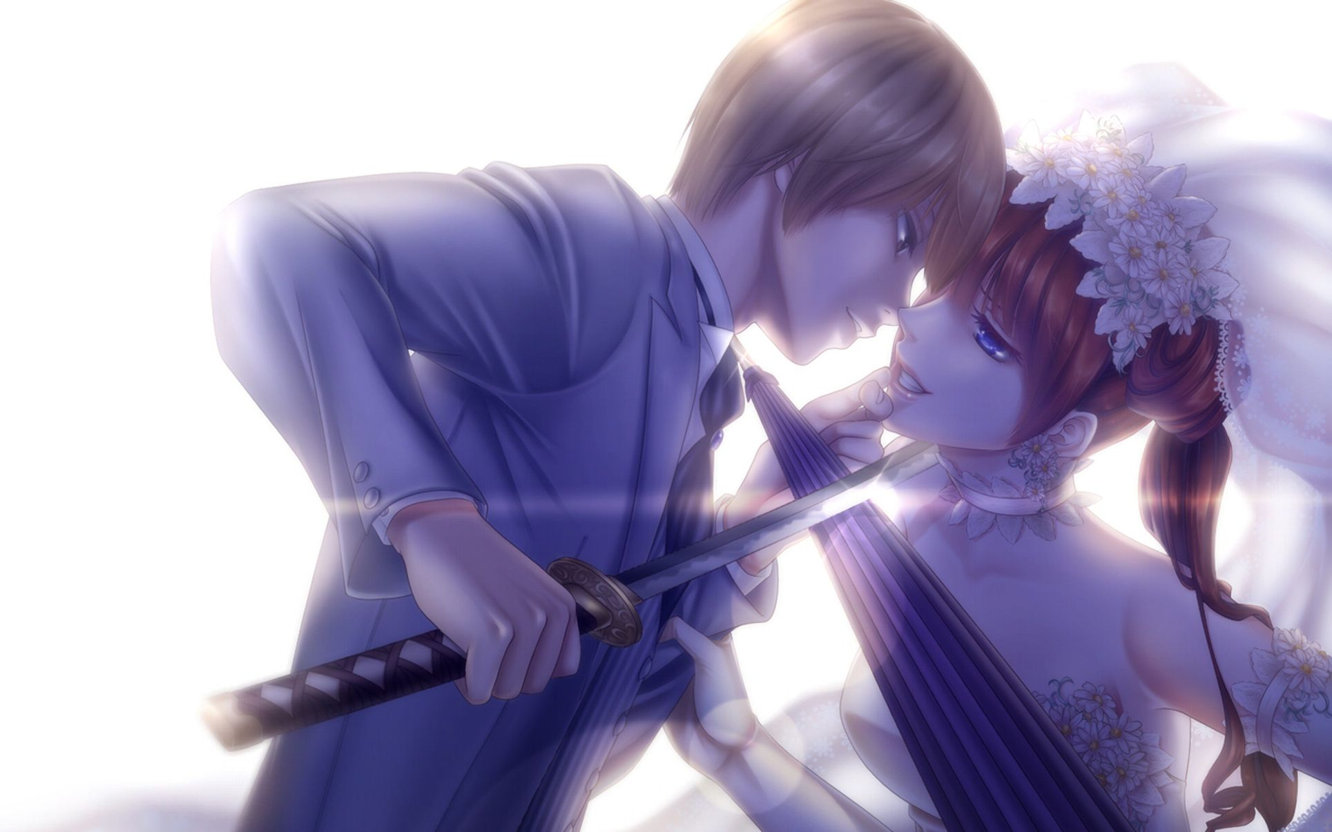 Cute Anime Couple Wallpaper Posted By Samantha Johnson