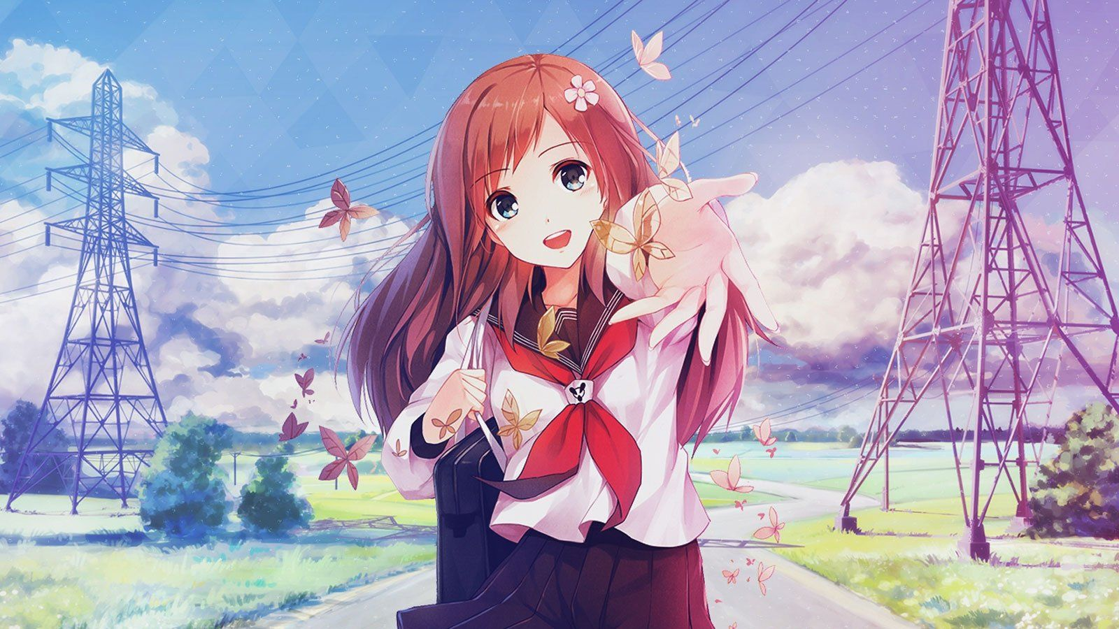 Cute Anime Girl Wallpaper Posted By Ethan Walker