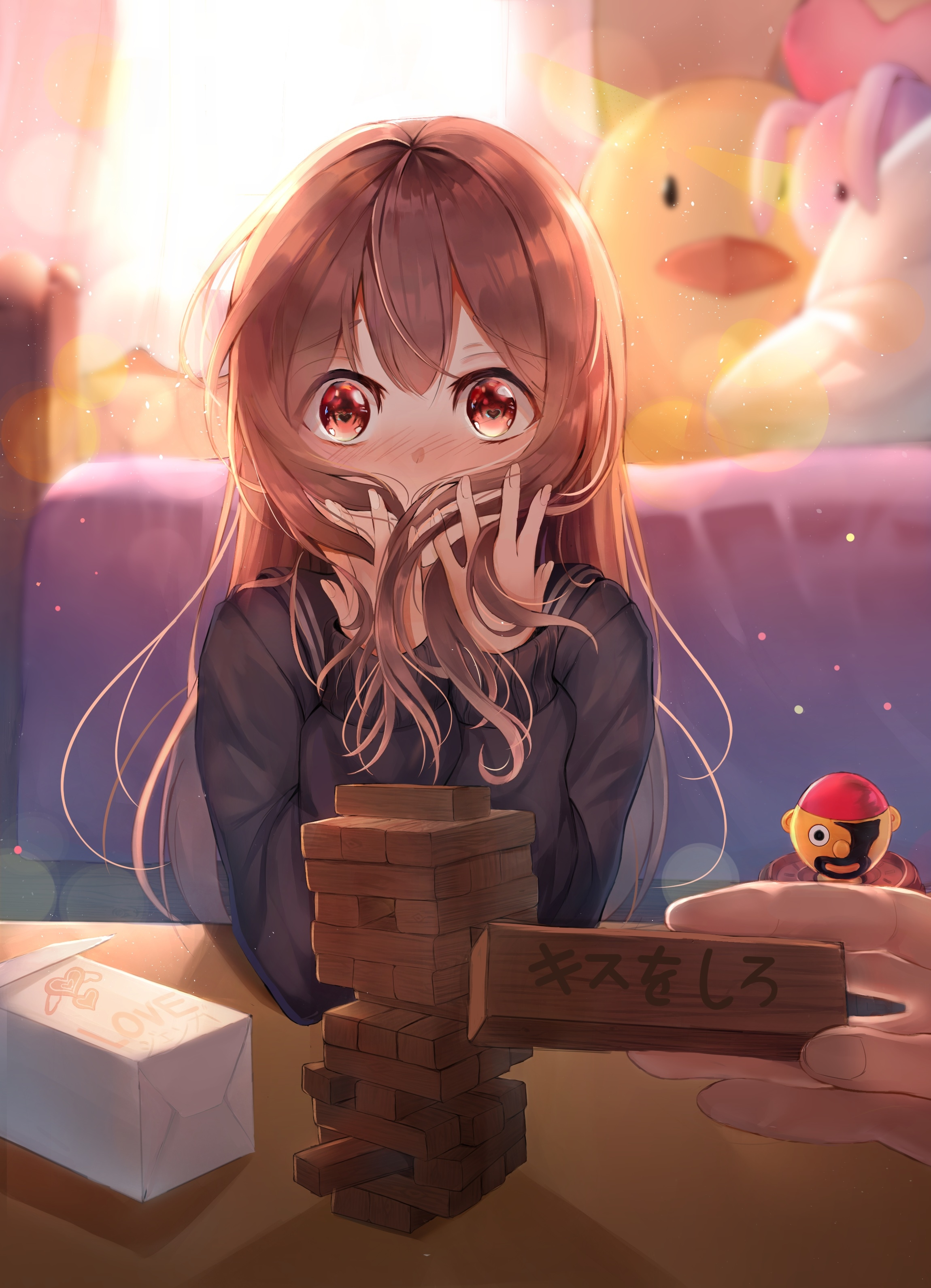 Cute Anime Girl With Long Hair Posted By Samantha Simpson