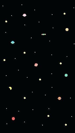 Space Wallpaper Black Cute Galaxy Wallpaper