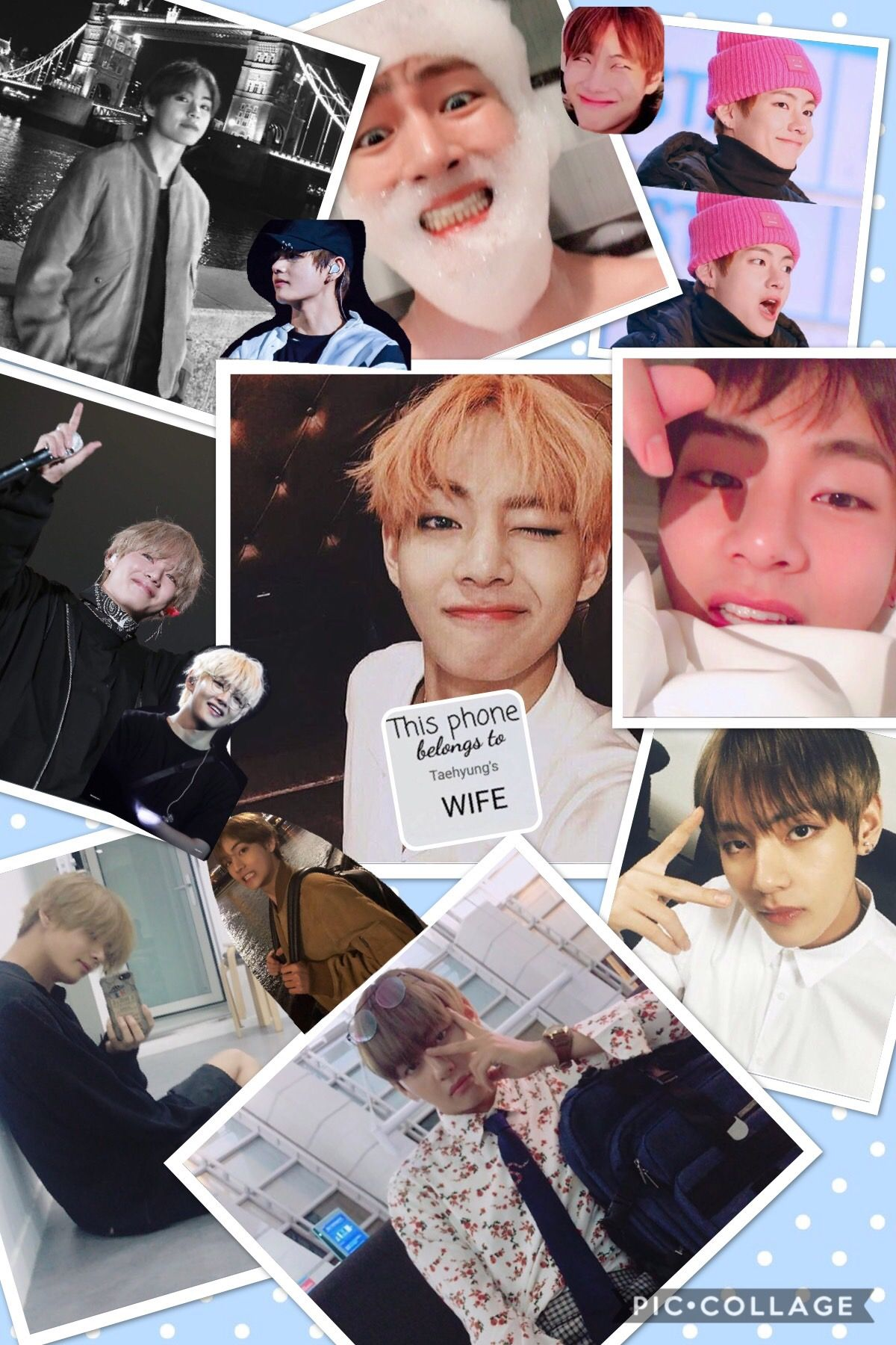 Kim Taehyung iPhone wallpaper in 2019 Bts wallpaper iphone