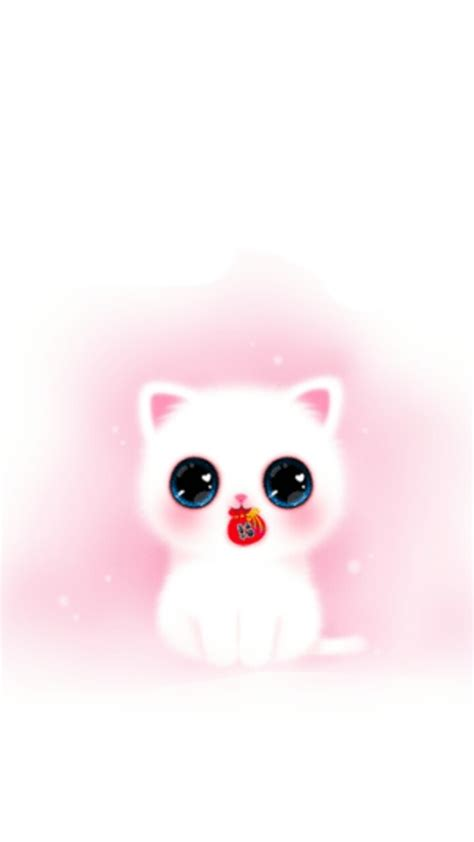 Cute Cat Cartoon Wallpaper Posted By Michelle Walker