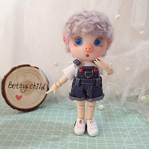 jointed doll from Betsy Child 13 cm BJD doll OB11 resin doll