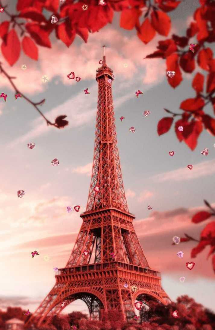 Cute Eiffel Tower Wallpaper Posted By John Cunningham