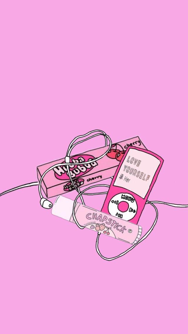 wallpaper pink Cute wallpapers Wallpaper iphone cute