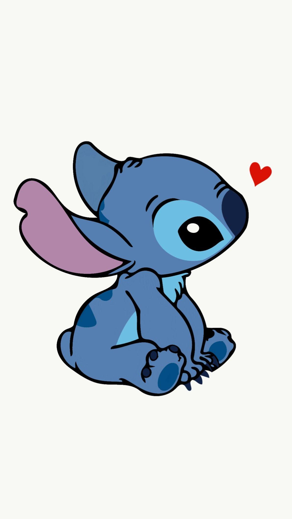 Wallpaper Iphone Cute Stitch