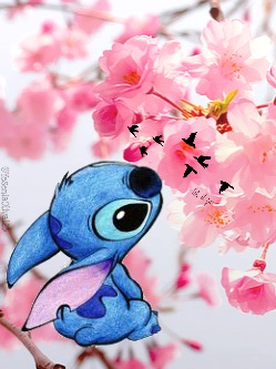 Cute Stitch Wallpaper uploaded by Yesenia on We Heart It