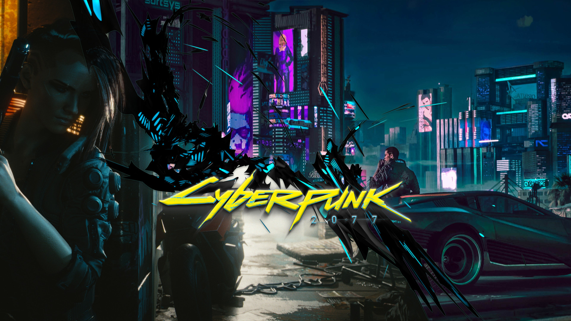 Cyberpunk 2077 Wallpaper 2560x1440 Posted By Michelle Sellers