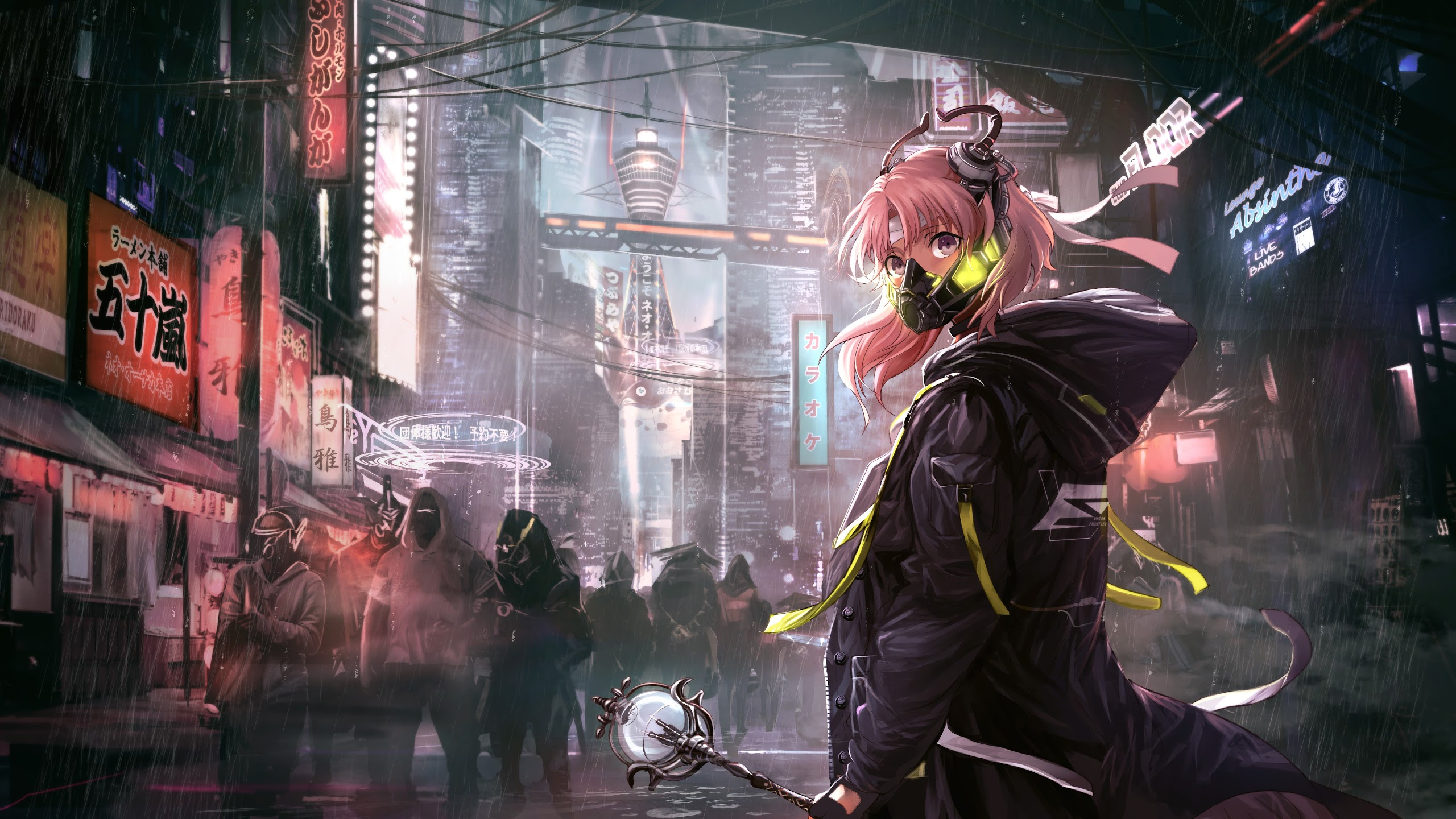 Cyberpunk Anime Wallpaper Posted By Ryan Walker