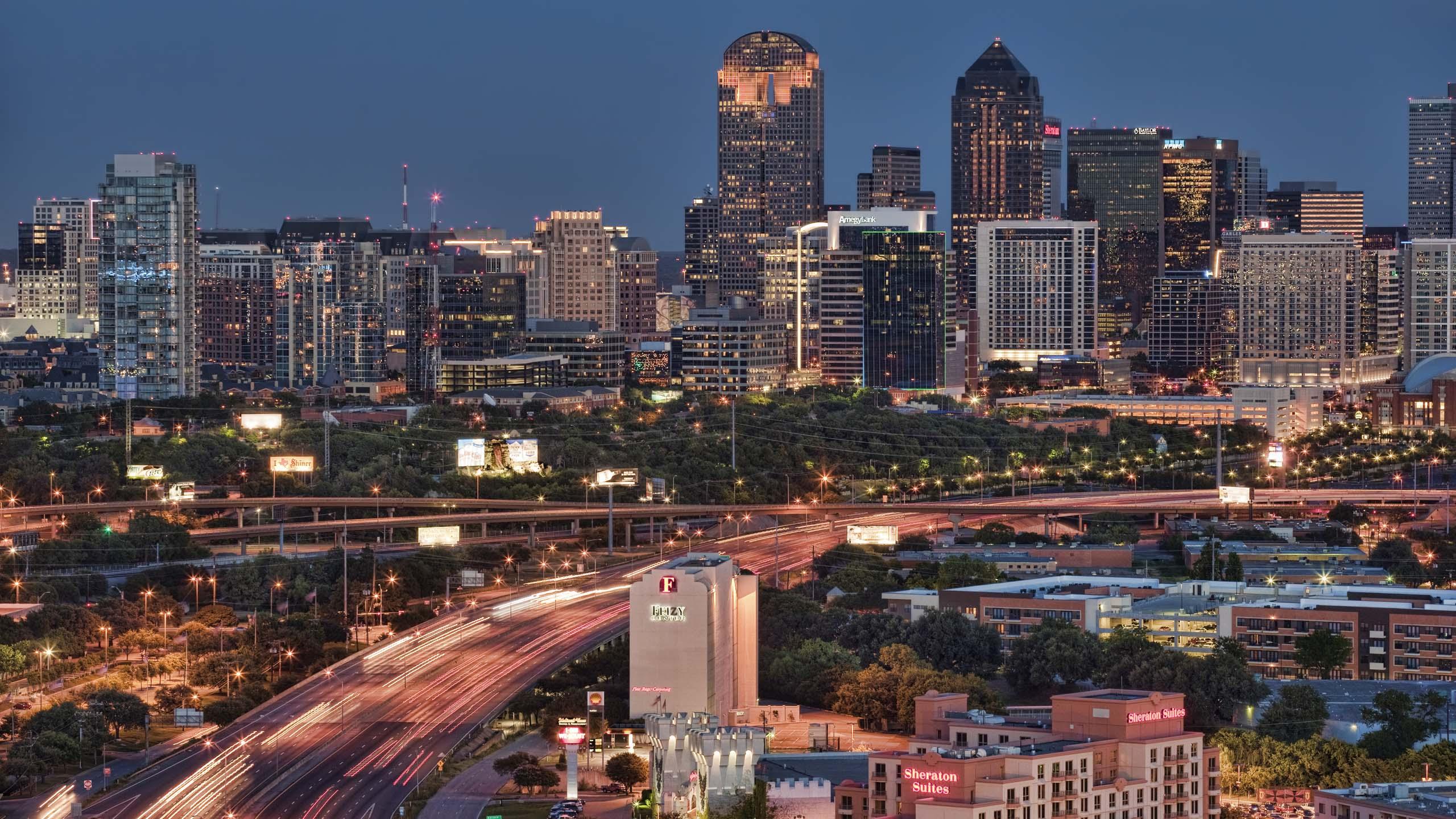 The Wonderful Dallas Skyline A or B James Brandon