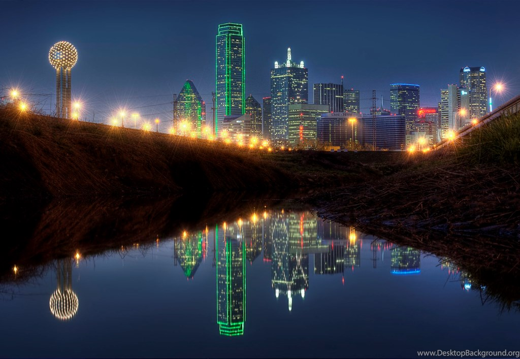 Top Dallas Texas Night Skyline Wallpapers Desktop Background