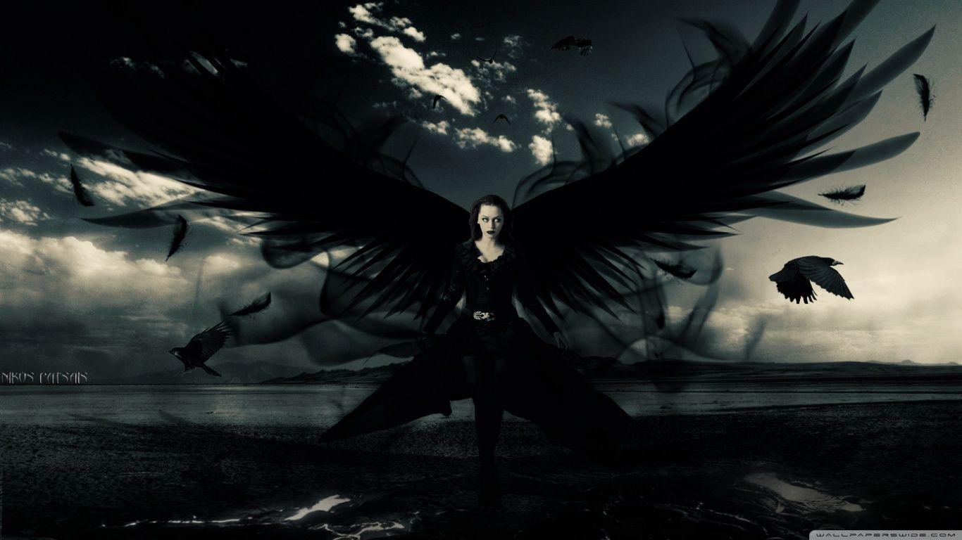 Dark Angel Anime Wallpaper Posted By Sarah Mercado