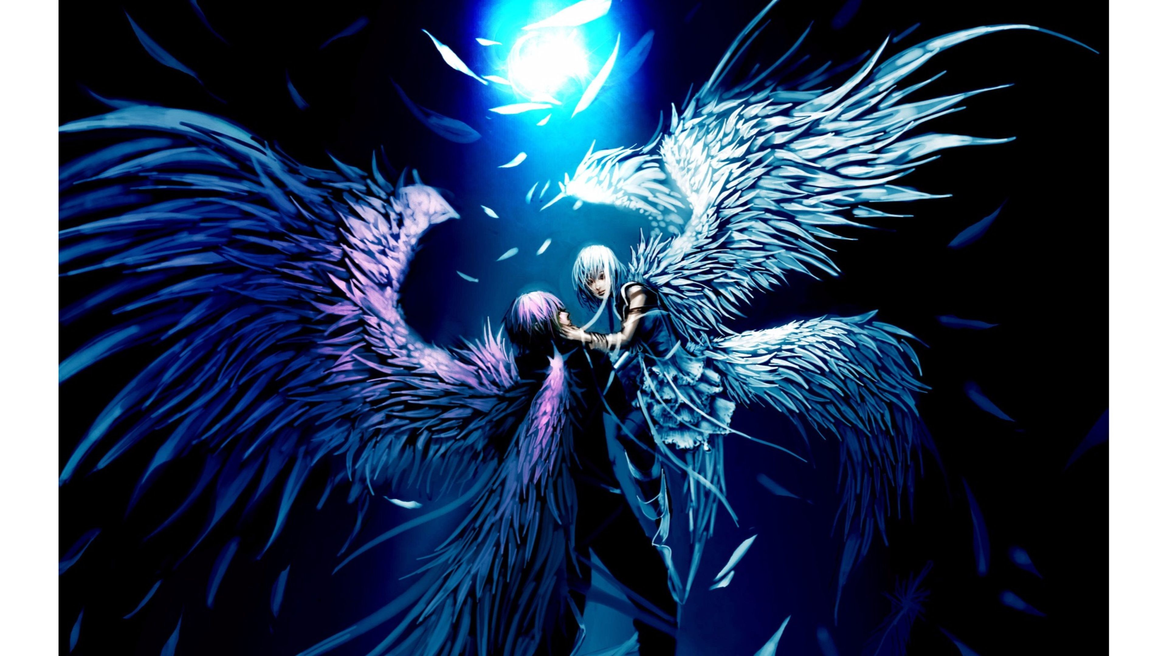 Dark Angel Anime Wallpaper Posted By Christopher Tremblay