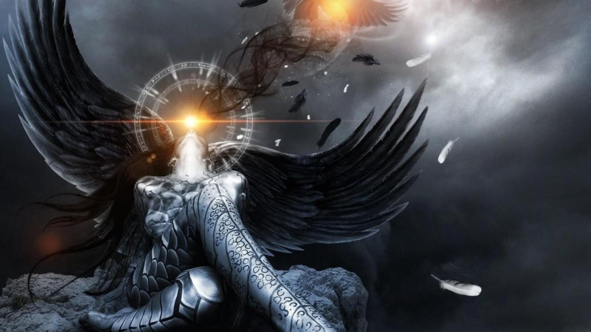 20+ Dark Angel Fallen Angel Hd Wallpaper PNG