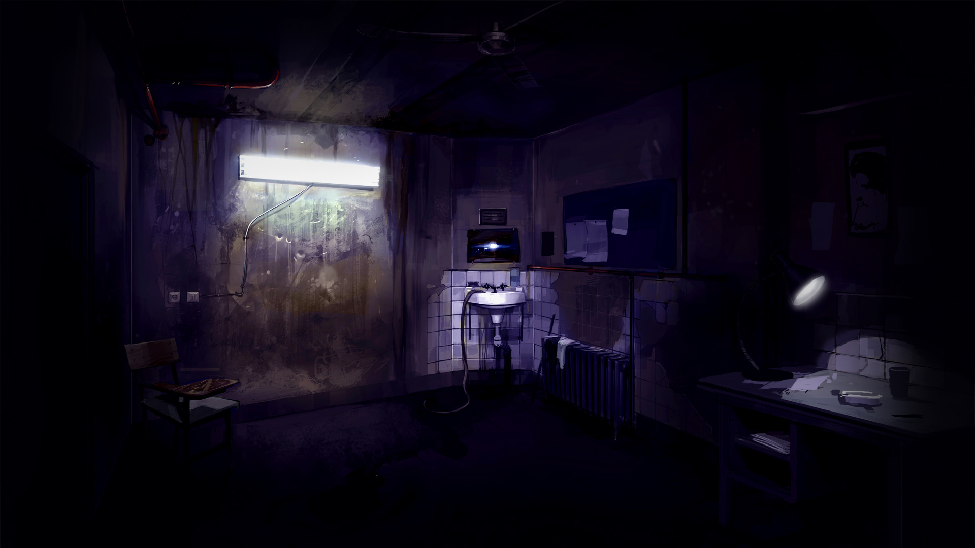 Dark Anime Background Scenery Posted By Michelle Mercado
