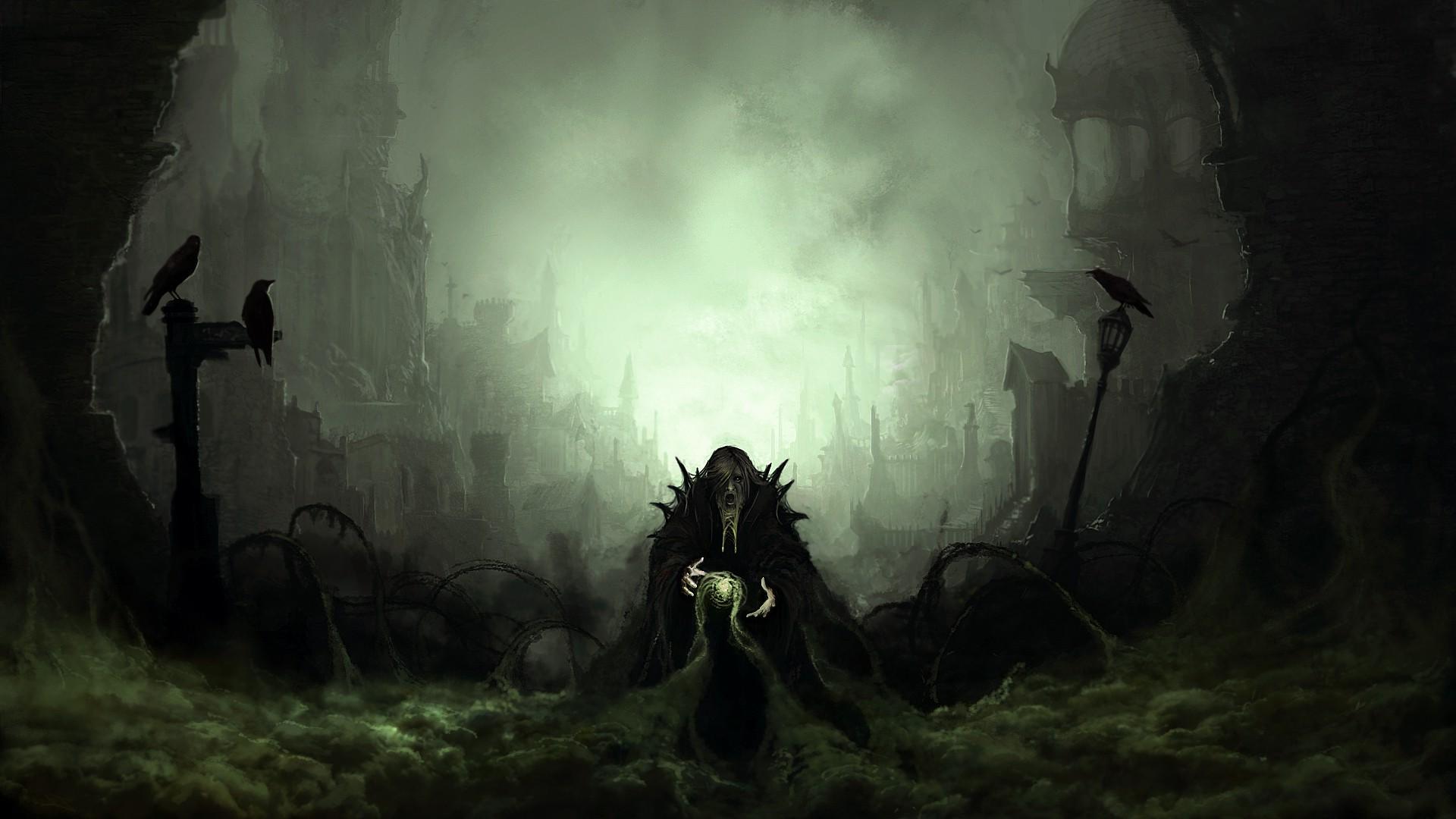 Dark Fantasy Wallpaper 1920x1080 Posted By Sarah Sellers