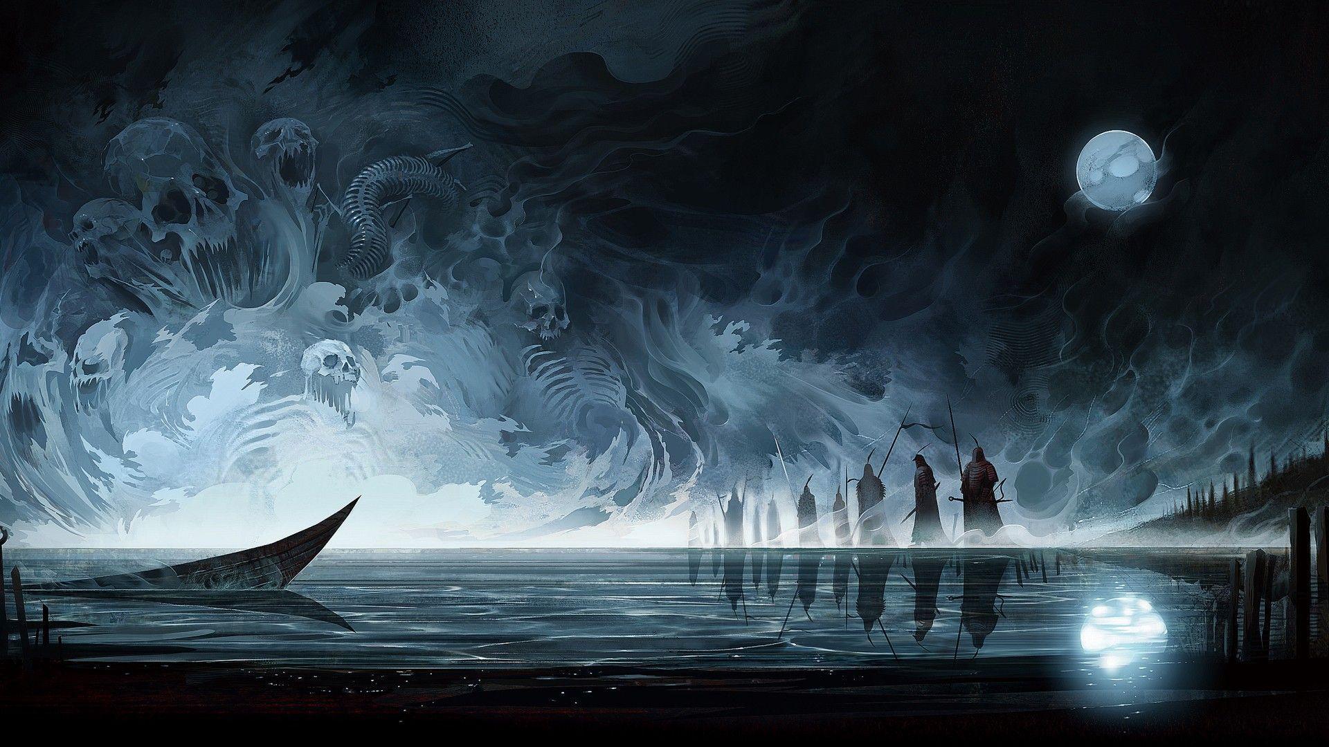 Dark Fantasy Wallpaper Posted By Michelle Johnson