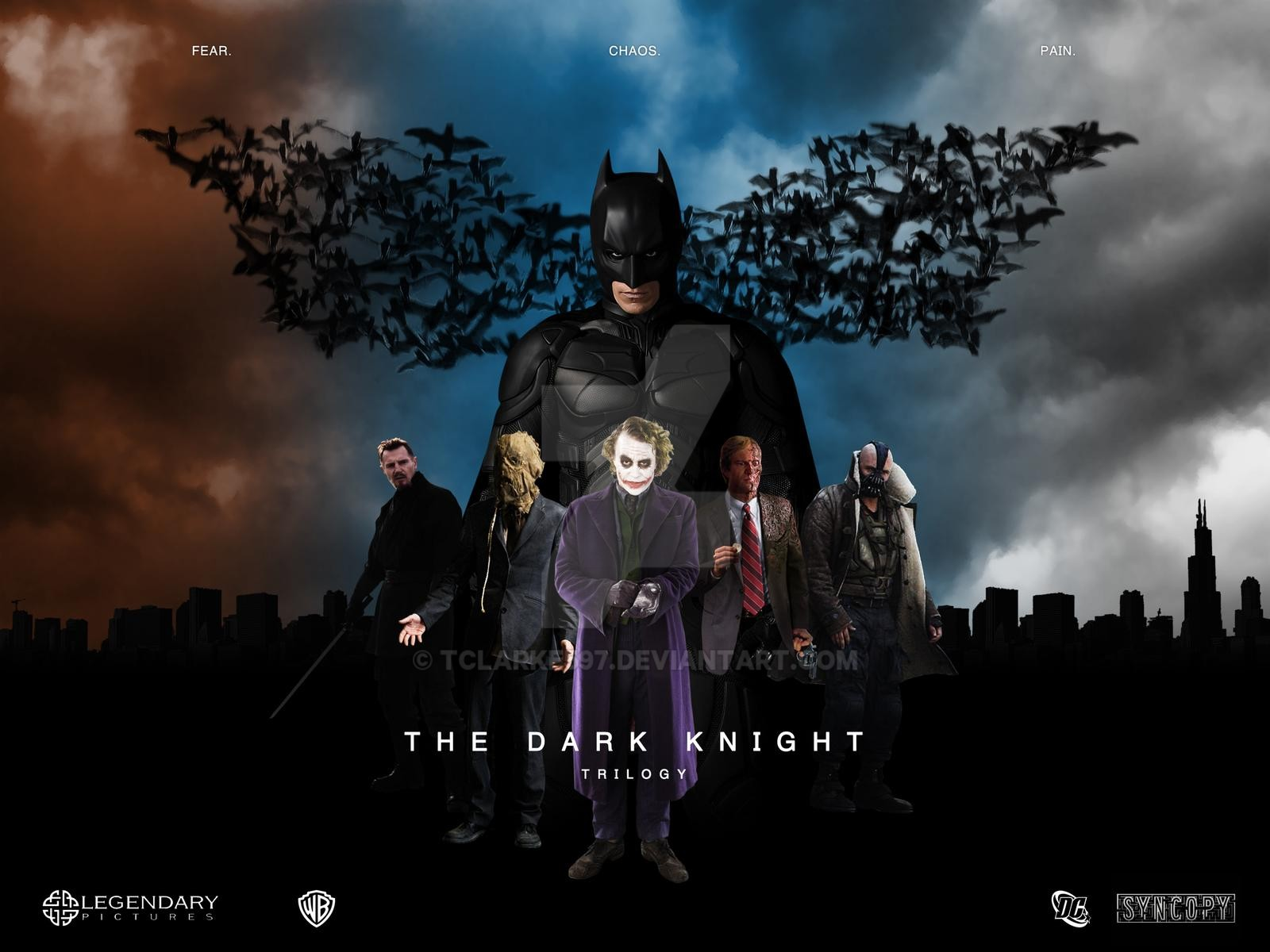 Dark Knight Trilogy Wallpaper Posted By Michelle Peltier