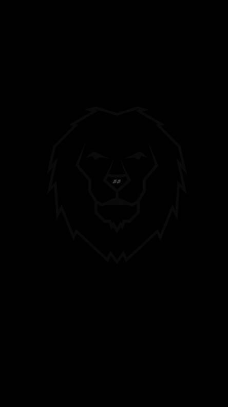 Iphone Black Lion Wallpaper 4k
