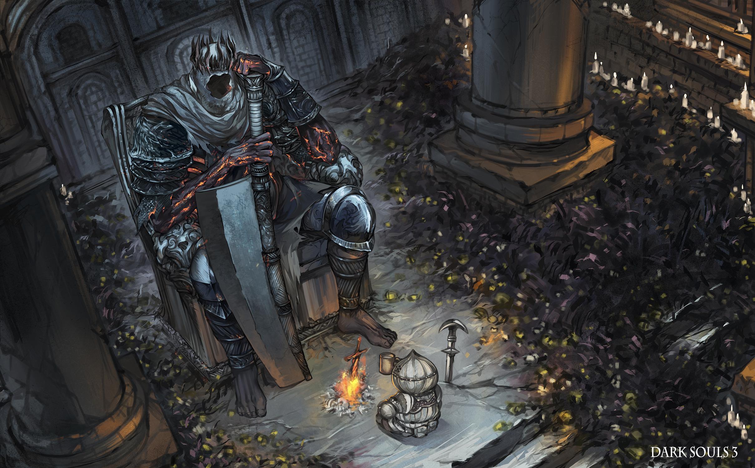 Dark Souls 3 Hd Wallpaper Posted By John Thompson