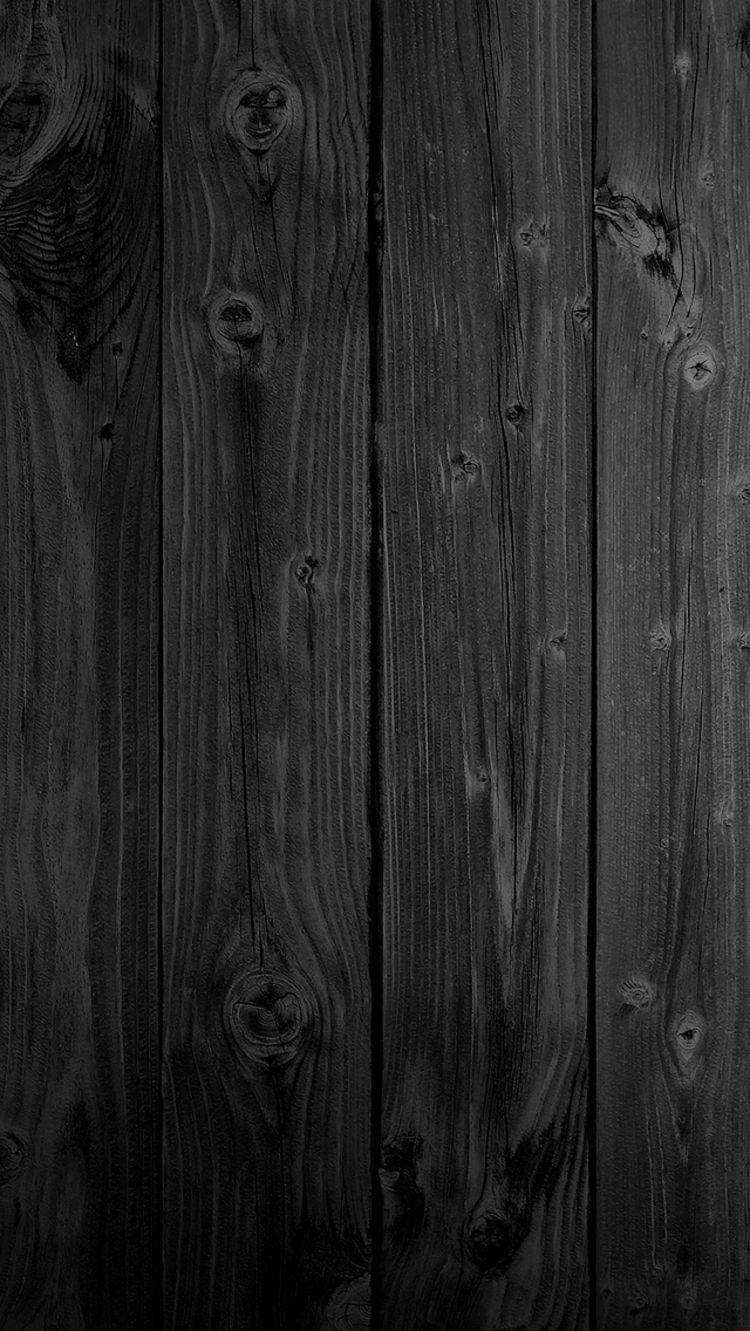 iPhone 6 Wood Wallpaper di 2019 Seni Hitam dan Lucu