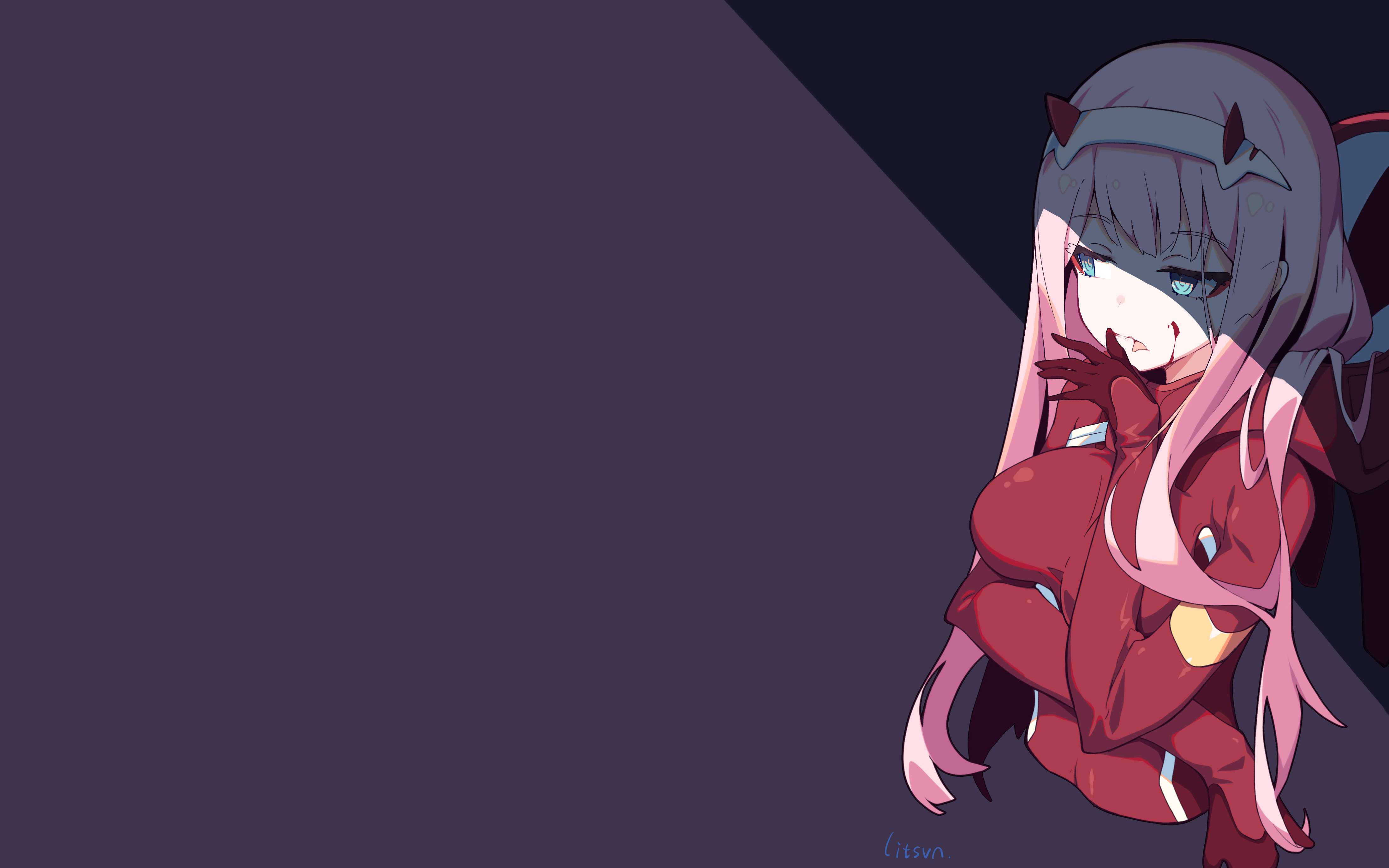 Darling In The Franxx Wallpaper Iphone posted by Michelle Cunningham